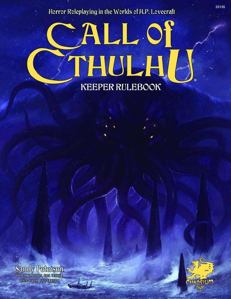 Call of Cthulhu Keeper Rulebook Cover